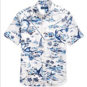 Talph Lauren Men's tropical shirt Sz 3XB
